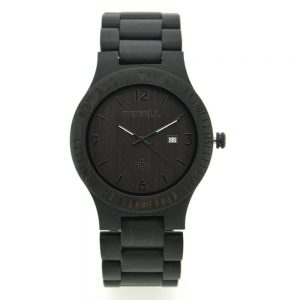 Bewell Santiago Mens Wooden Watch UK 2