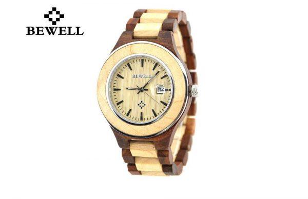 bewell paris mens womens ladies couples wooden watch uk 1