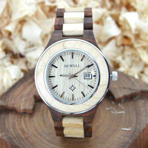 bewell paris mens womens ladies couples wooden watch uk 2