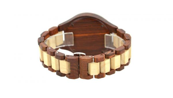 bewell paris mens womens ladies couples wooden watch uk 3