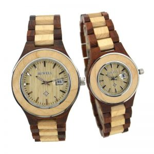 bewell paris mens womens ladies couples wooden watch uk 4