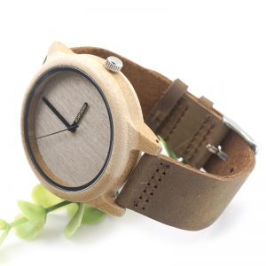 bobobird lima mens womens ladies unisex wooden watch bamboo wood uk