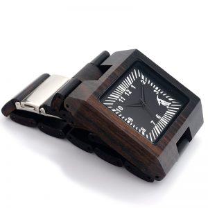 bobobird mens wooden watch black quartz