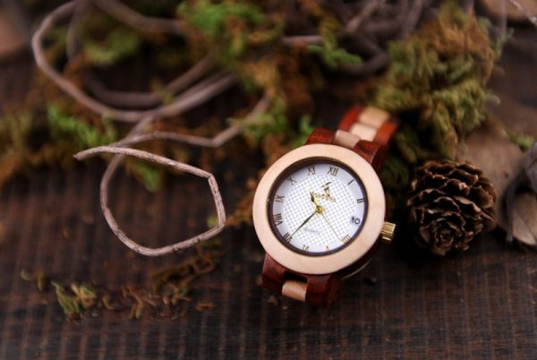 bobobird minsk womens ladies wooden watch bamboo wood strap analog quartz uk