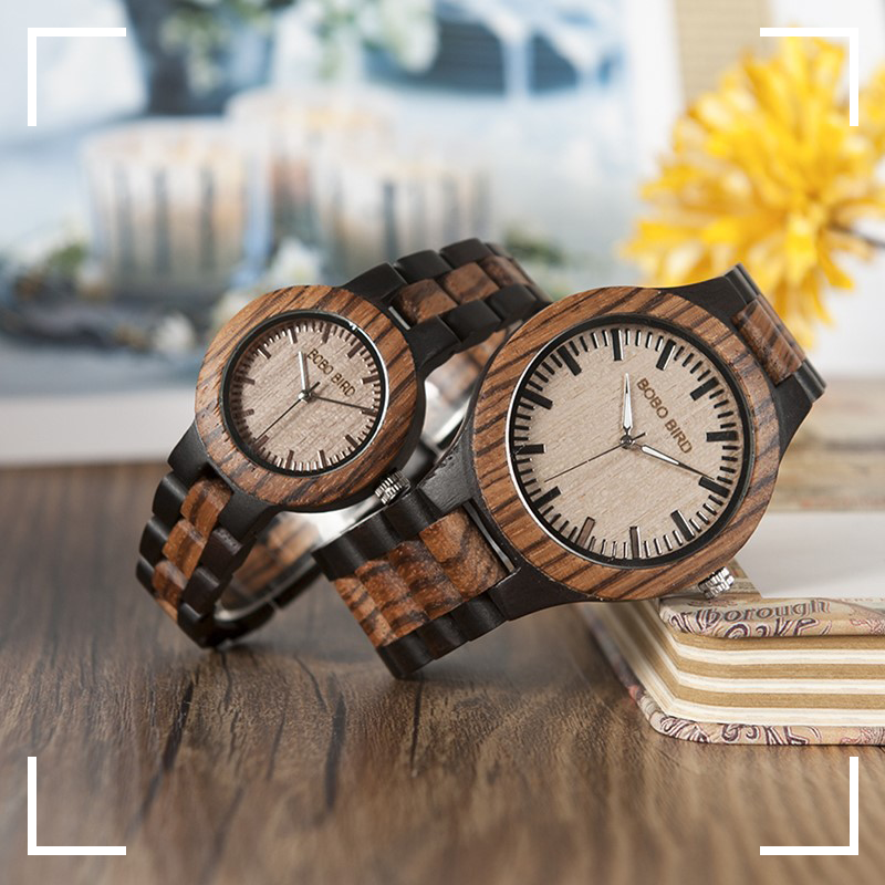 couples mens womens ladies unisex wooden watch wood strap buy shop uk