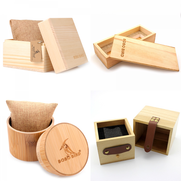 free wooden watch box gift