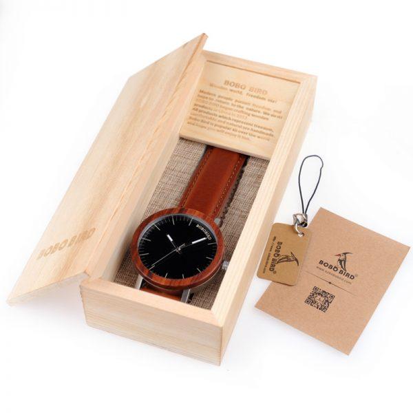 havana mens wooden watch uk 6