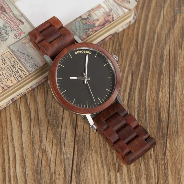 havana mens wooden watch uk 7