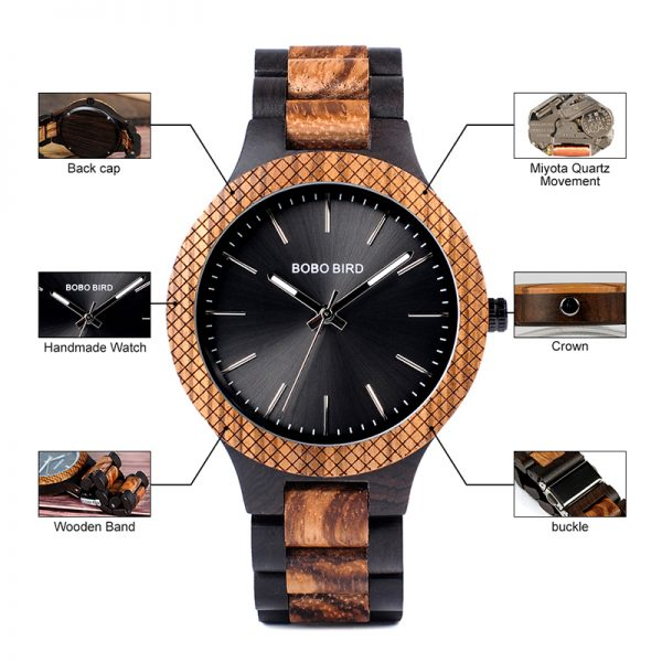 bobobird milan mens wood watches uk