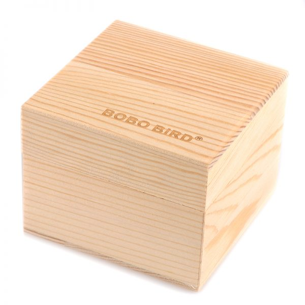 bobo bird mens free gift box wooden watch uk
