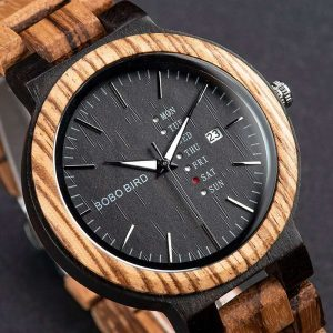 Bobo Bird Prague Mens Wooden Watches