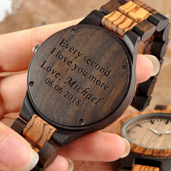 bobobird free wood watch engraving
