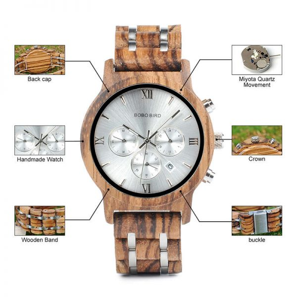 bobobird turin mens wooden watches uk 16