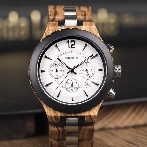 bobobird venice mens wooden watch uk