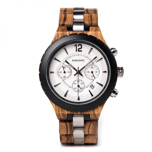 bobobird venice mens engraved wood watches uk