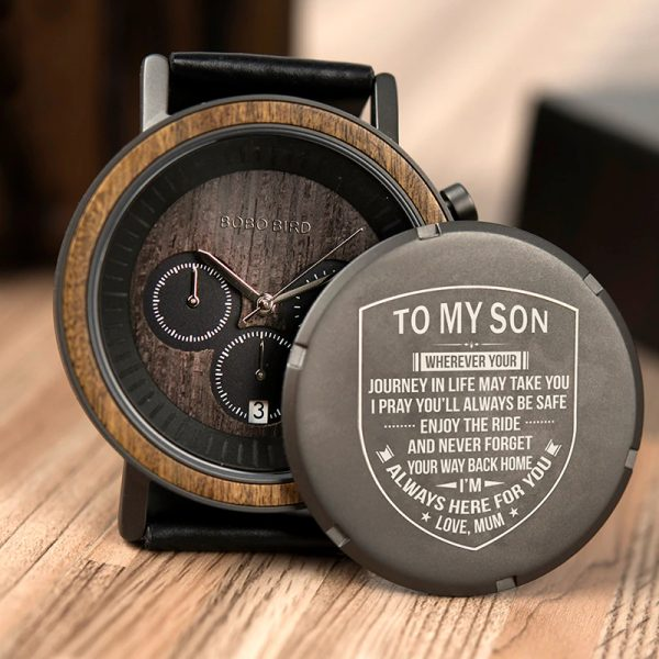 bobobird zurich mens personalised wooden watches uk