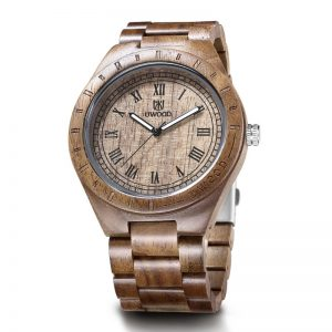 uwood edinburgh mens wooden watch uk