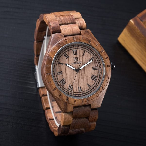 uwood edinburgh mens wooden watches uk