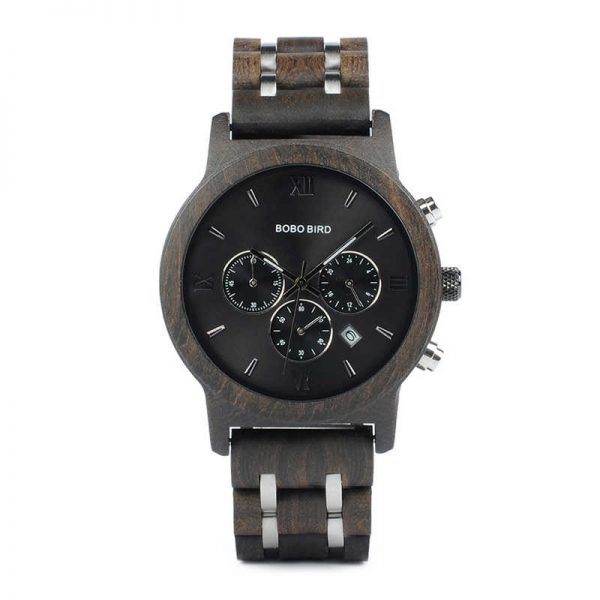 Bobo Bird Marseille Mens Wooden Watch UK 4