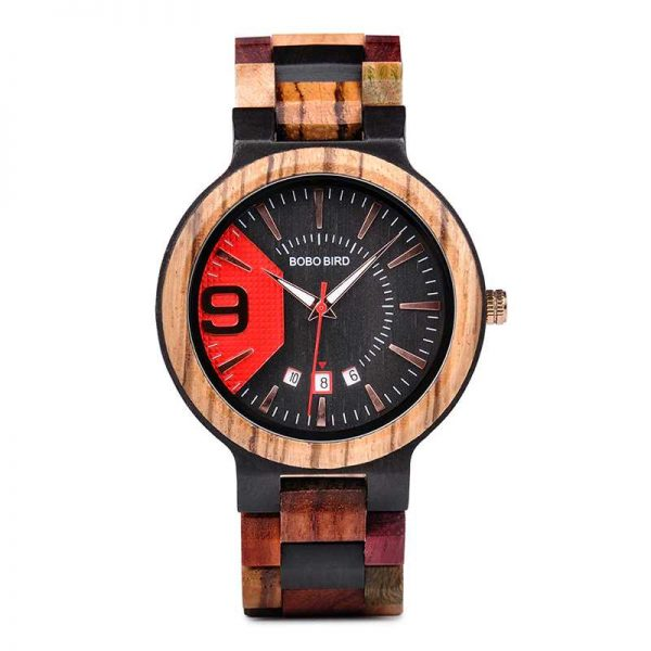 bobobird miami mens personalised wooden watch uk