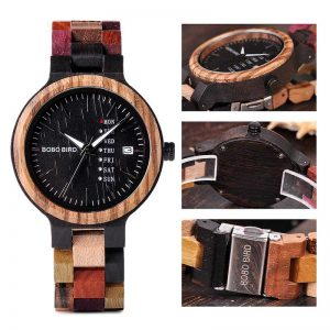 bobobird vancouver mens engraved wooden watch uk