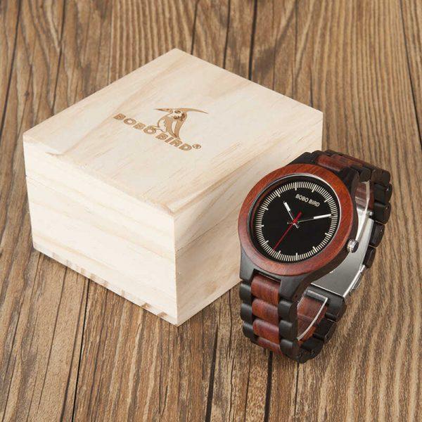bobo bird madrid mens wooden watch uk