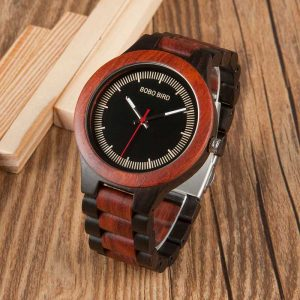 bobo bird madrid mens wooden watch engraved uk