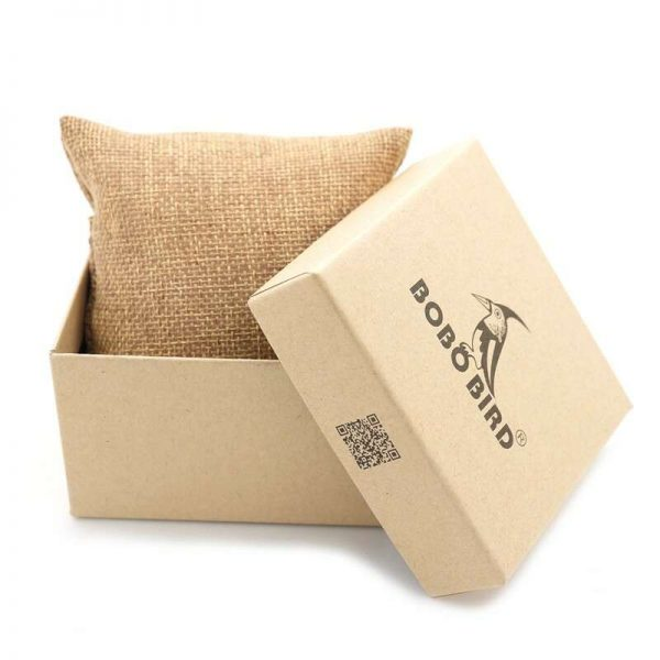 bobo bird monaco mens wooden watch uk gift box