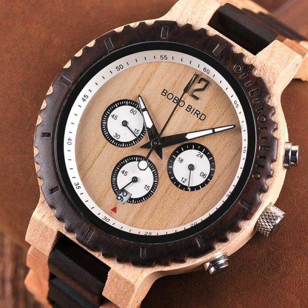 bobo bird singapore mens engraved wooden watch uk