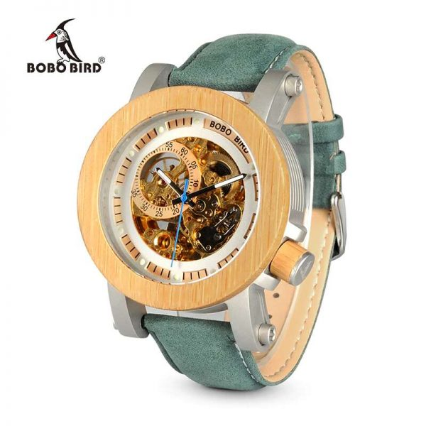 bobo bird gothenburg mens wooden watch uk 3