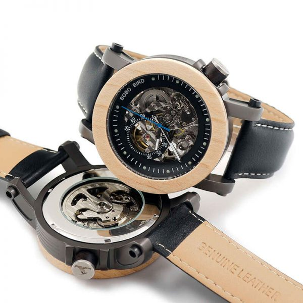 bobo bird gothenburg mens wooden watch uk 33