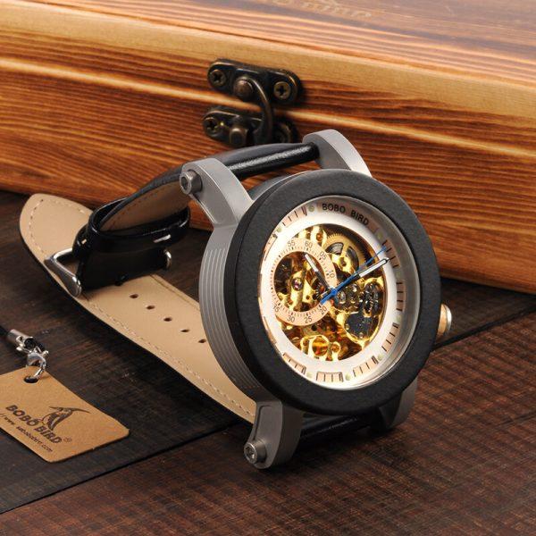 bobo bird gothenburg mens wooden watch uk 6