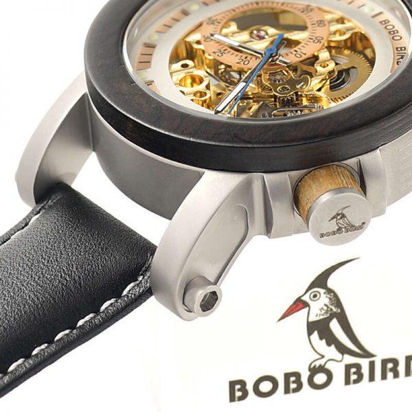 bobo bird gothenburg mens wooden watch uk 7