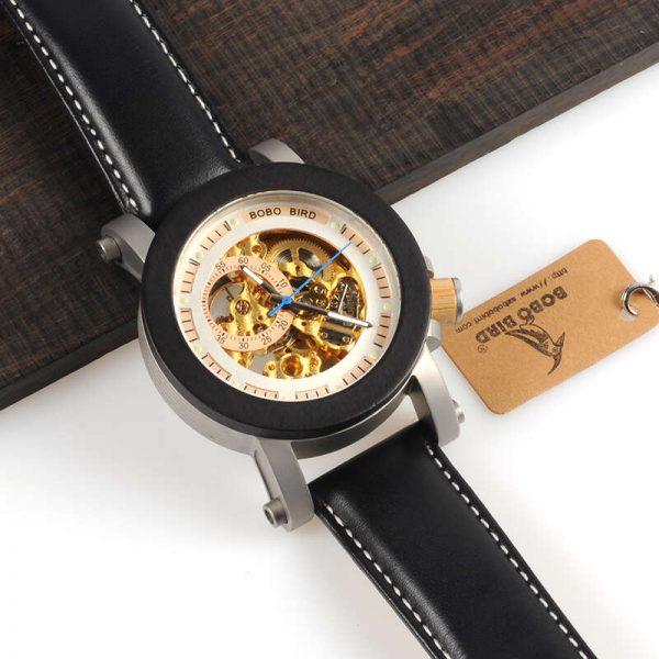 bobo bird gothenburg mens wooden watch uk 8
