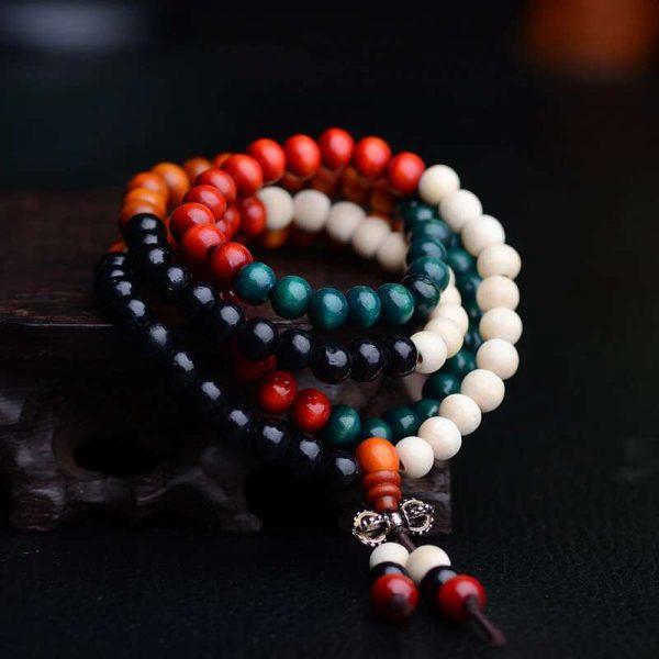 wooden beads bracelet 1