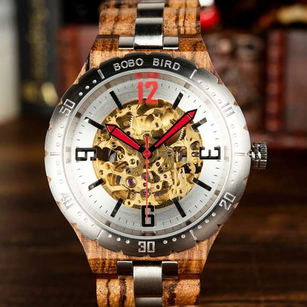 Bobo Bird Rio mens wooden watch uk 17