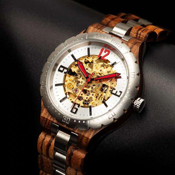Bobo Bird Rio mens wooden watch uk 19