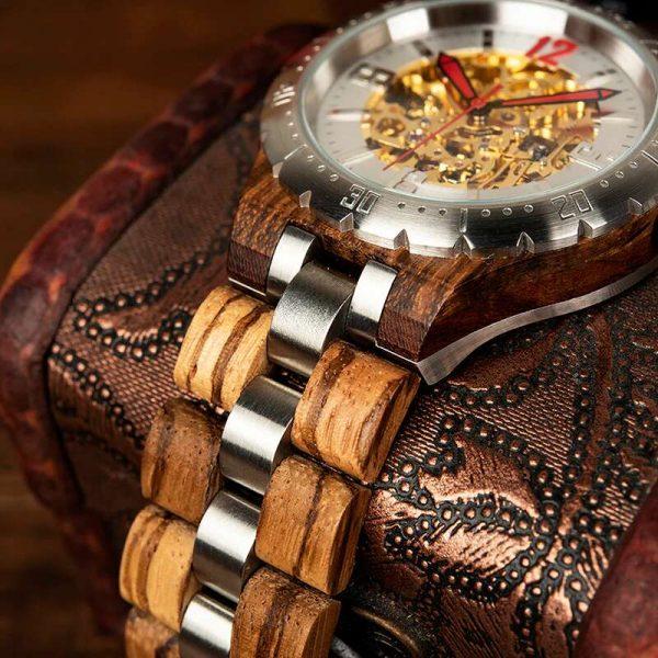 Bobo Bird Rio mens wooden watch uk 21