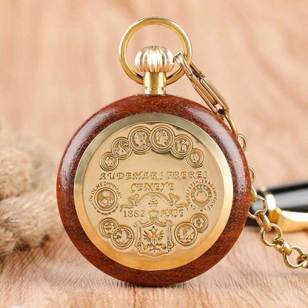 caifu wooden pocket watch uk 2