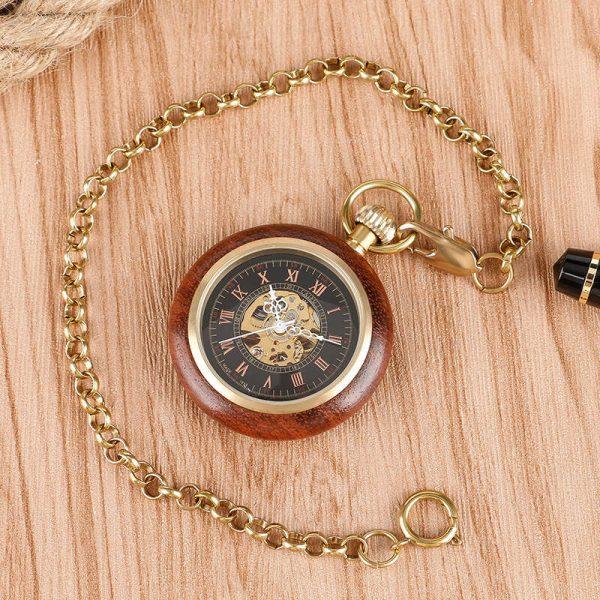 caifu wooden pocket watch uk 3