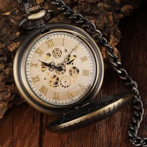 gorben wooden vintage pocket watch uk 1