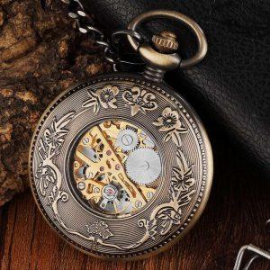 gorben wooden vintage pocket watch uk 4