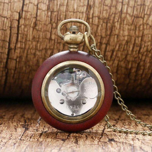 wooden vintage pocket watch uk 1