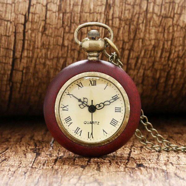 wooden vintage pocket watch uk 2