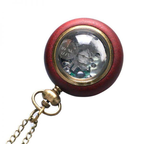 wooden vintage pocket watch uk 3
