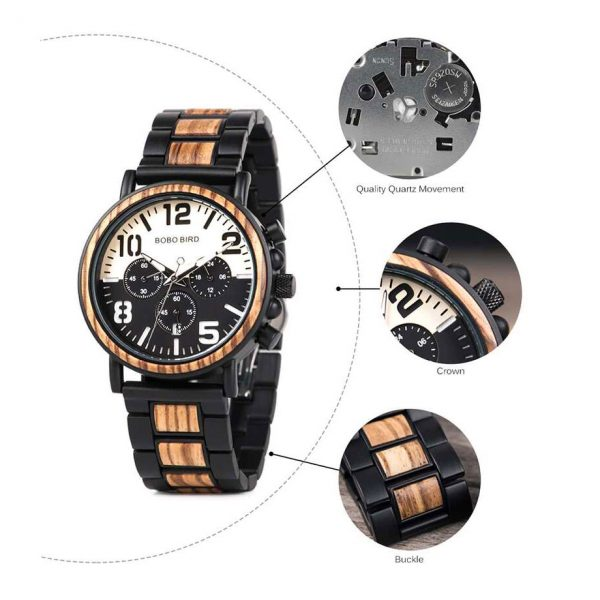 bobo bird boston mens wooden watch uk 4