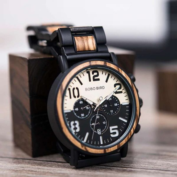 bobo bird boston mens wooden watch uk 5