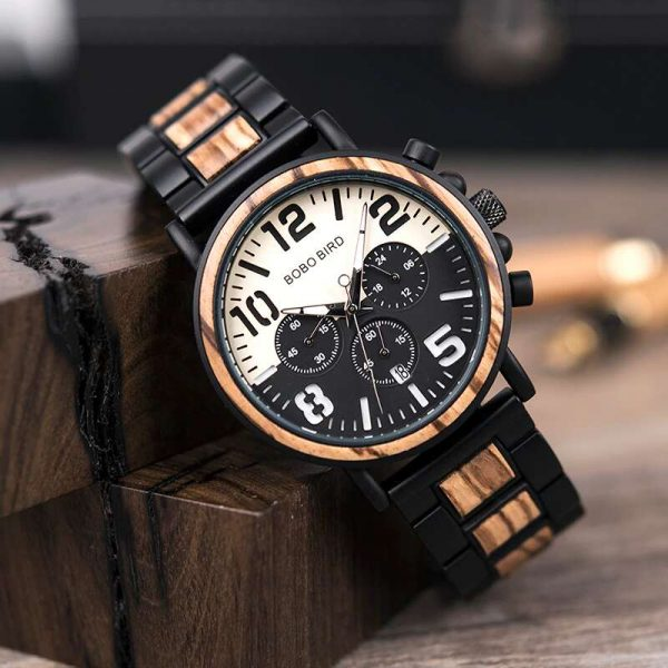 bobo bird boston mens wooden watch uk 7