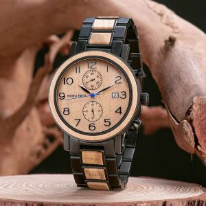 bobo bird casablanca mens wooden watch uk 1