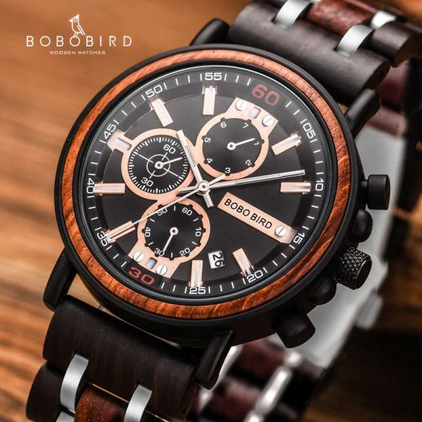 bobo bird geneva mens wooden watch uk 8